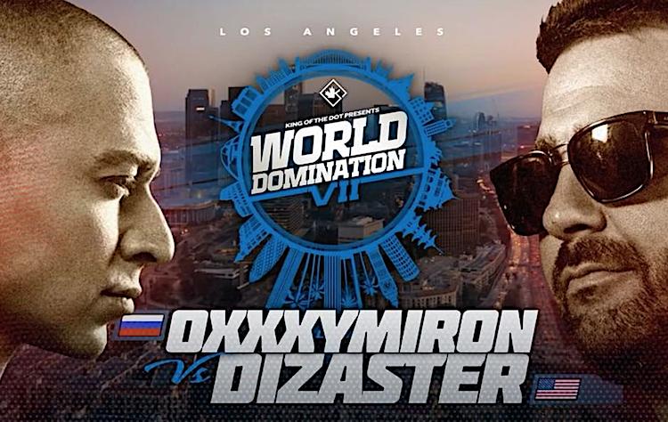 Oxxxymiron — бой против лучшего в мире Dizaster