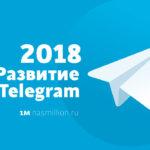 Telegram каналы и их развитие — 2018